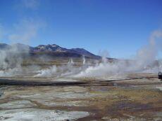 El-Tatio geyser fields near San Pedro de Atacama, northern Chile, Andes 2005